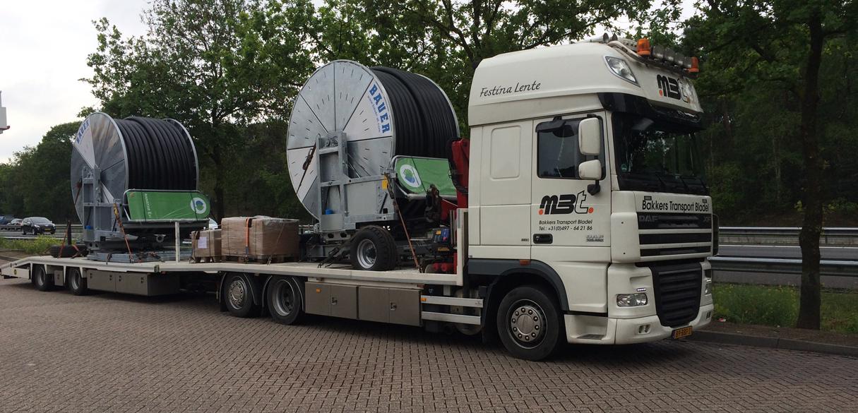 Ganz und zu Extrem Landmaschinentransport - M. Bakkers Transport #AH_98
